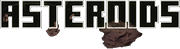 Asteroids Game Logo